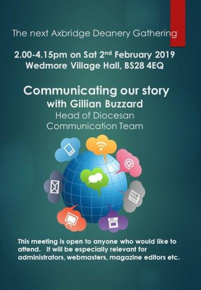 February Axbridge Deanery Synod Gathering