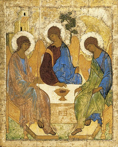 Icon for use with Trinity Sunday Service