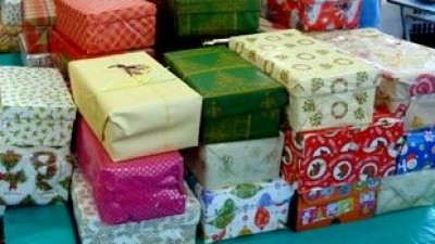 Mission to Seafarers Christmas Shoe Boxes